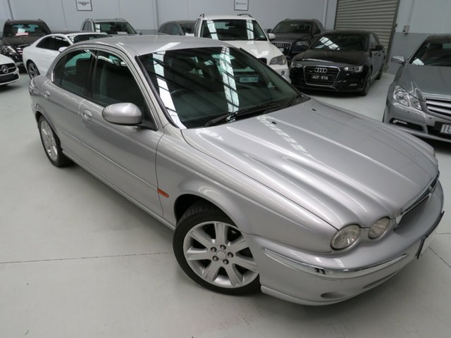 Used Jaguar X-Type X400 SE, 2003 Jaguar X-Type X400 SE Silver 5 Speed Automatic Sedan