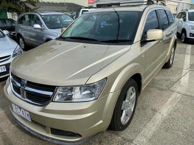 Used Dodge Journey JC MY10 R/T CRD, 2010 Dodge Journey JC MY10 R/T CRD Gold 6 Speed Automatic Wagon