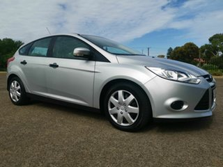 2012 Ford Focus LW Ambiente Silver 6 Speed Automatic Hatchback.