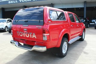 2013 Toyota Hilux KUN26R MY14 SR5 Double Cab Red 5 Speed Automatic Utility.
