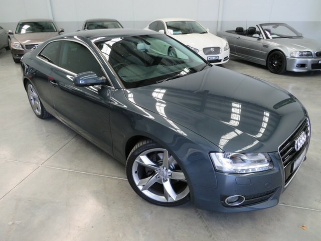 Used Audi A5 8T MY11 S Tronic Quattro, 2011 Audi A5 8T MY11 S Tronic Quattro Monsoon Grey 7 Speed Sports Automatic Dual Clutch Coupe