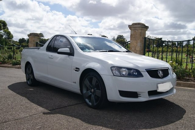 Used Holden Commodore VE II MY12 Omega, 2011 Holden Commodore VE II MY12 Omega White 6 Speed Automatic Utility
