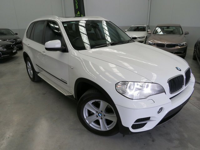 Used BMW X5 E70 MY12 xDrive30d Steptronic, 2012 BMW X5 E70 MY12 xDrive30d Steptronic White 8 Speed Sports Automatic Wagon
