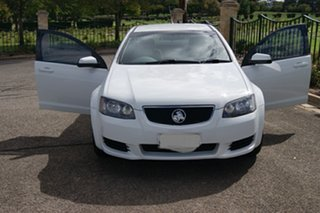 2011 Holden Commodore VE II MY12 Omega White 6 Speed Automatic Utility