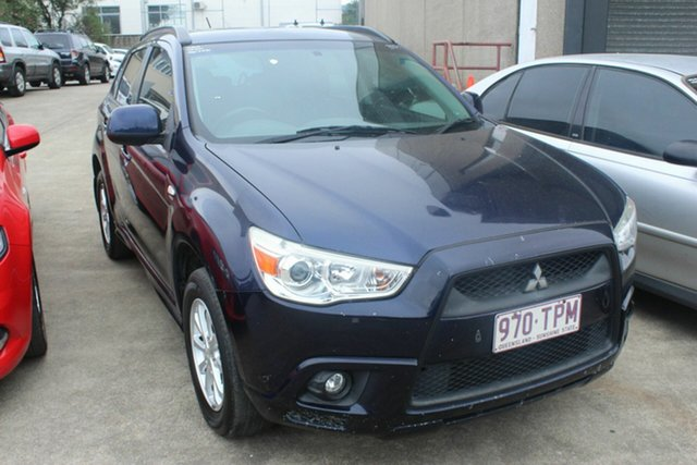 Used Mitsubishi ASX XA MY12 2WD, 2012 Mitsubishi ASX XA MY12 2WD Blue 5 Speed Manual Wagon