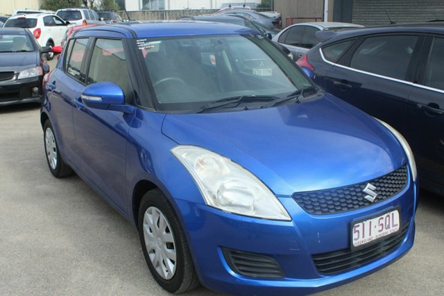 Used Suzuki Swift FZ GA, 2012 Suzuki Swift FZ GA Blue 5 Speed Manual Hatchback