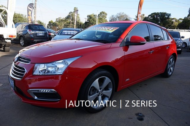 Used Holden Cruze JH Series II MY16 Z-Series, 2016 Holden Cruze JH Series II MY16 Z-Series Red 6 Speed Sports Automatic Hatchback
