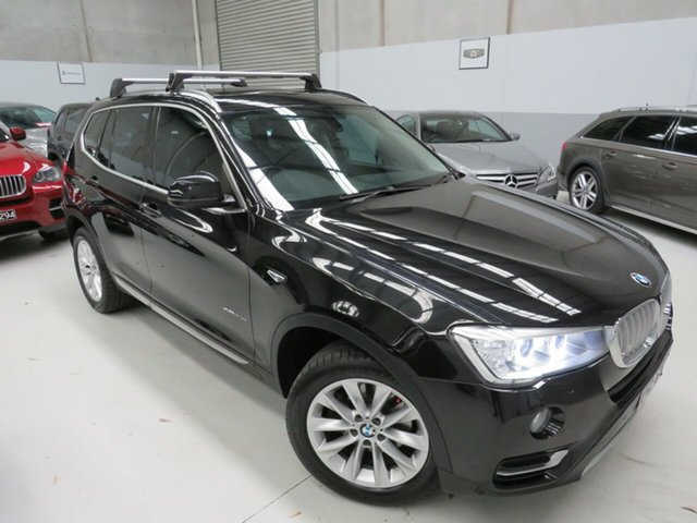 Used BMW X3 F25 LCI xDrive20d Steptronic, 2015 BMW X3 F25 LCI xDrive20d Steptronic Black 8 Speed Automatic Wagon