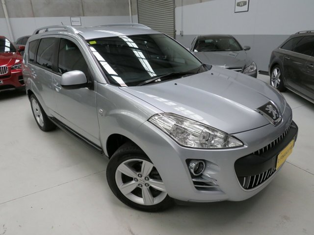 Used Peugeot 4007  ST DCS Auto HDi, 2011 Peugeot 4007 ST DCS Auto HDi Arctic Silver 6 Speed Sports Automatic Dual Clutch Wagon