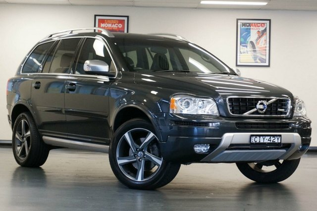 Used Volvo XC90 P28 MY12 D5 Geartronic R-Design, 2012 Volvo XC90 P28 MY12 D5 Geartronic R-Design Grey 6 Speed Sports Automatic Wagon