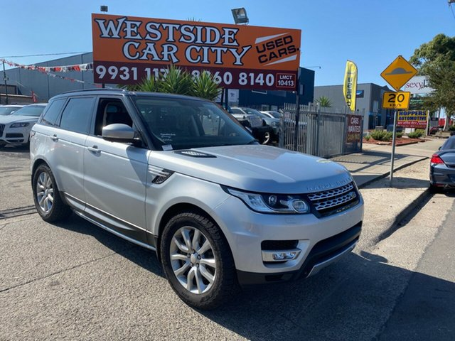 Used Land Rover Range Rover LW MY15 Sport 3.0 SDV6 HSE, 2015 Land Rover Range Rover LW MY15 Sport 3.0 SDV6 HSE Silver 8 Speed Automatic Wagon