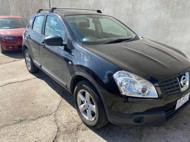 Used Nissan Dualis J10 ST (4x4) Hoppers Crossing, 2008 Nissan Dualis J10 ST (4x4) Black 6 Speed CVT Auto Sequential Wagon