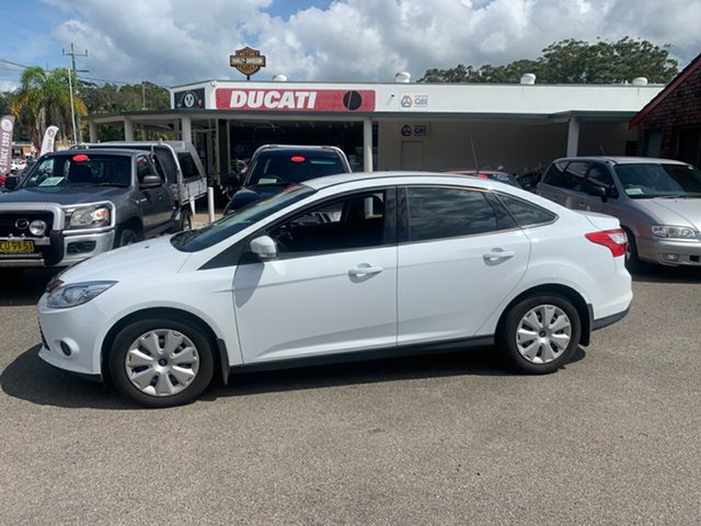 Used Ford Focus  , 2012 Ford Focus LW11 Ambienent 1.6 auto White 6 Speed Automatic Sedan