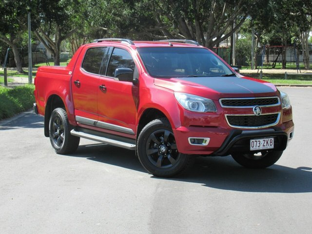 Used Holden Colorado RG MY16 Z71 Crew Cab, 2015 Holden Colorado RG MY16 Z71 Crew Cab Orange 6 Speed Sports Automatic Utility