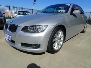 2007 BMW 3 Series E92 MY08 325i Steptronic Silver Metallic 6 Speed Sports Automatic Coupe.