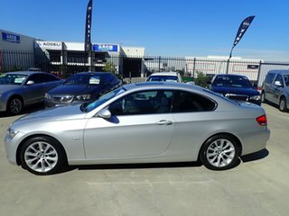 2007 BMW 3 Series E92 MY08 325i Steptronic Silver Metallic 6 Speed Sports Automatic Coupe