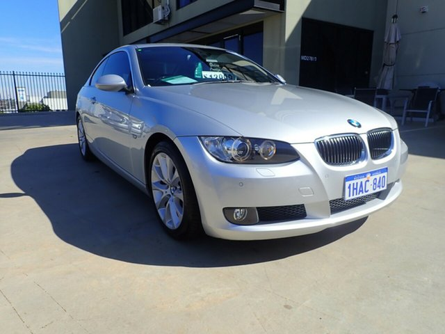 Used BMW 3 Series E92 MY08 325i Steptronic, 2007 BMW 3 Series E92 MY08 325i Steptronic Silver Metallic 6 Speed Sports Automatic Coupe