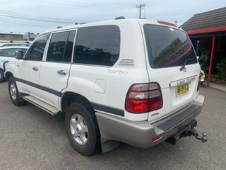 2002 Toyota Landcruiser 100SER GXL White 5 Speed Automatic Wagon
