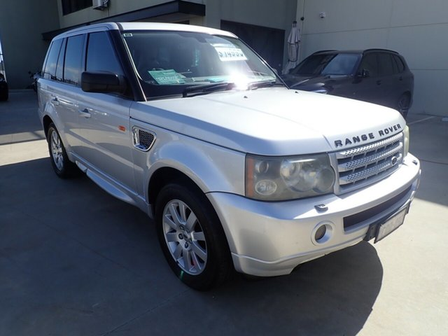 Used Land Rover Range Rover Sport L320 06MY TDV6, 2005 Land Rover Range Rover Sport L320 06MY TDV6 Silver 6 Speed Sports Automatic Wagon