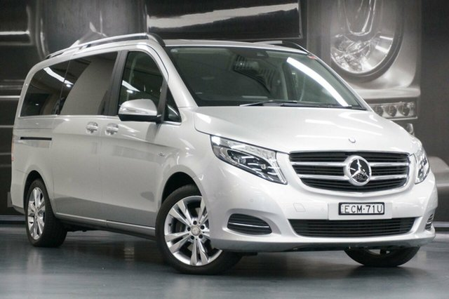 Used Mercedes-Benz V-Class 447 V250 d 7G-Tronic + Avantgarde, 2015 Mercedes-Benz V-Class 447 V250 d 7G-Tronic + Avantgarde Silver 7 Speed Sports Automatic Wagon