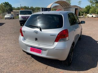 2009 Toyota Yaris YR Silver 4 Speed Auto Active Select Hatchback