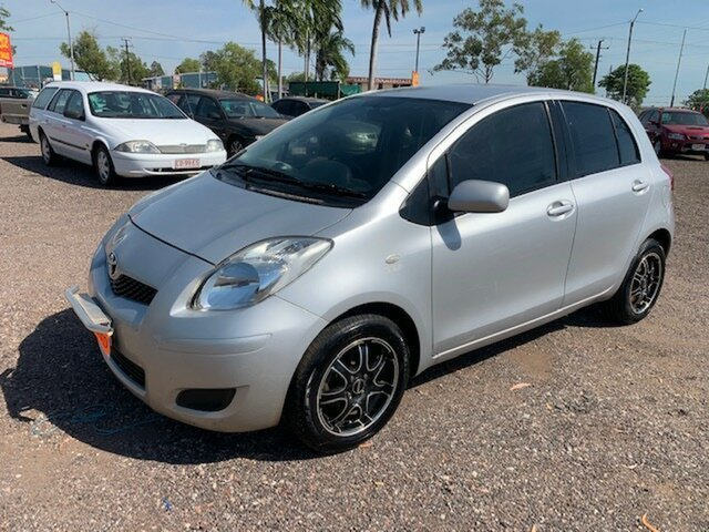 Used Toyota Yaris  YR, 2009 Toyota Yaris YR Silver 4 Speed Auto Active Select Hatchback