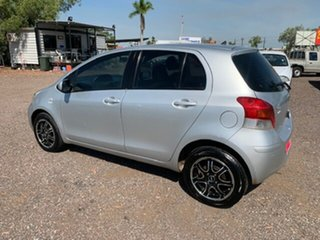 2009 Toyota Yaris YR Silver 4 Speed Auto Active Select Hatchback.