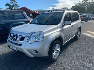 2013 Nissan X-Trail T31 FWD ST Silver 5 Speed Manual Wagon.