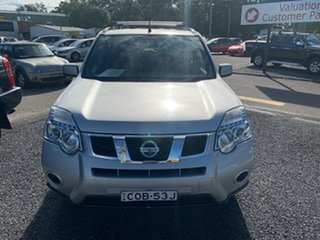 2013 Nissan X-Trail T31 FWD ST Silver 5 Speed Manual Wagon