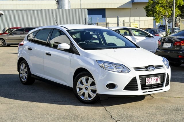 Used Ford Focus LW Ambiente, 2011 Ford Focus LW Ambiente White 5 Speed Manual Hatchback