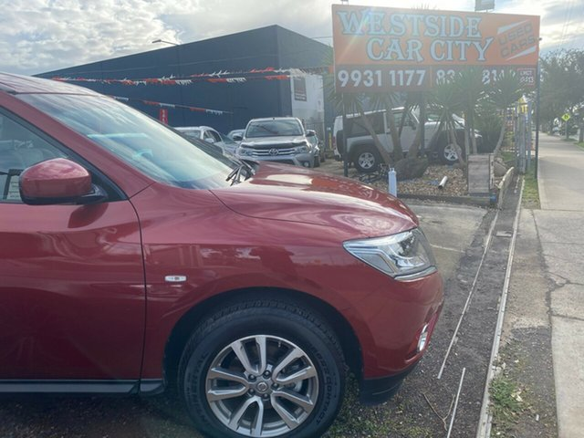 Used Nissan Pathfinder R52 MY15 ST (4x2), 2015 Nissan Pathfinder R52 MY15 ST (4x2) Burgundy Continuous Variable Wagon