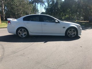 2012 Holden Commodore VE II MY12 SV6 White Automatic Sedan.