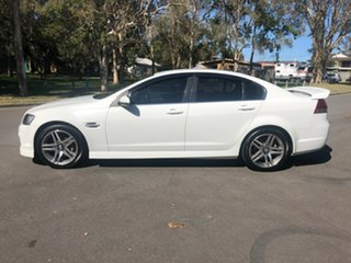 2012 Holden Commodore VE II MY12 SV6 White Automatic Sedan