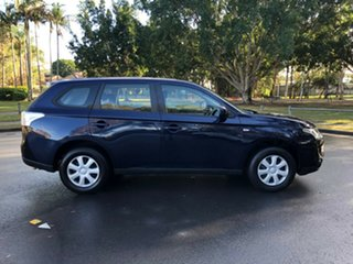 2013 Mitsubishi Outlander Blue 6 Speed Constant Variable Wagon.