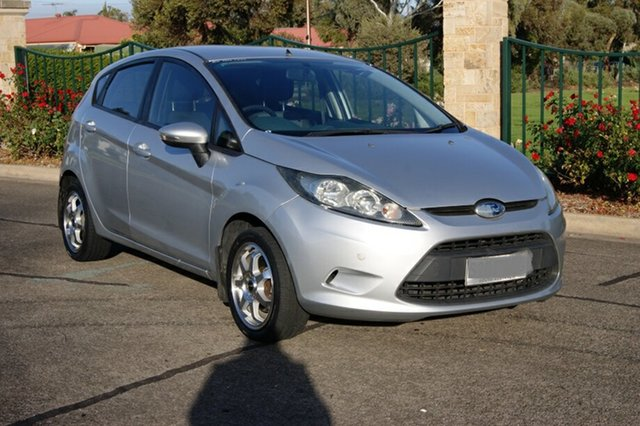 Used Ford Fiesta WS CL, 2009 Ford Fiesta WS CL Silver 4 Speed Automatic Hatchback