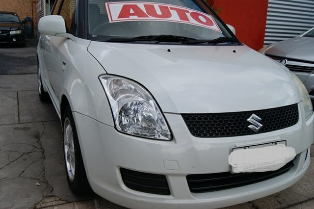 Used Suzuki Swift EZ 07 Update , 2008 Suzuki Swift EZ 07 Update White 4 Speed Automatic Hatchback