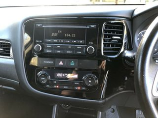 2013 Mitsubishi Outlander Blue 6 Speed Constant Variable Wagon