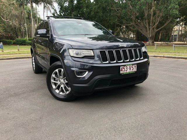 Used Jeep Grand Cherokee WK MY15 Laredo (4x4), 2015 Jeep Grand Cherokee WK MY15 Laredo (4x4) Silver 8 Speed Automatic Wagon