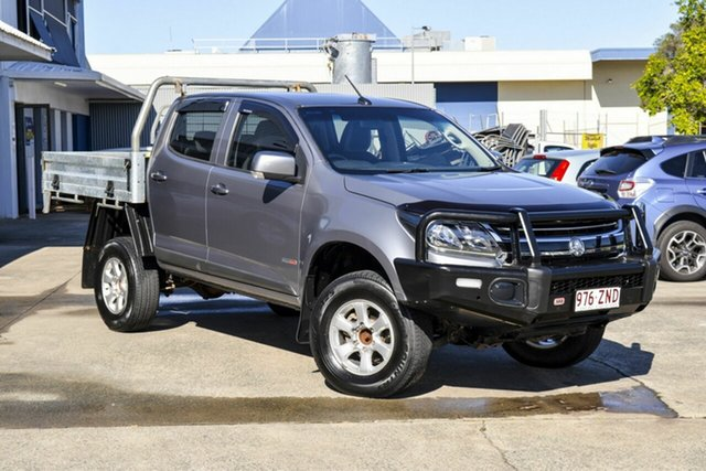 Used Holden Colorado RG MY17 LS Crew Cab, 2017 Holden Colorado RG MY17 LS Crew Cab Grey 6 Speed Sports Automatic Cab Chassis