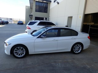 2012 BMW 3 Series F30 MY0812 320d White/Black Roof 8 Speed Sports Automatic Sedan