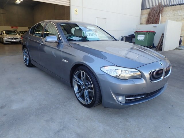 Used BMW 5 Series F10 535i Steptronic, 2010 BMW 5 Series F10 535i Steptronic Storm Grey 8 Speed Sports Automatic Sedan