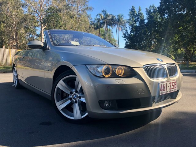 Used BMW 335i E93 MY09 , 2009 BMW 335i E93 MY09 Grey 7 Speed Auto Direct Shift Convertible