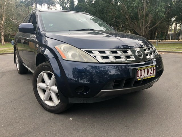 Used Nissan Murano Z50 TI, 2008 Nissan Murano Z50 TI Blue Continuous Variable Wagon