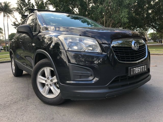 Used Holden Trax TJ LS, 2013 Holden Trax TJ LS Black 6 Speed Automatic Wagon