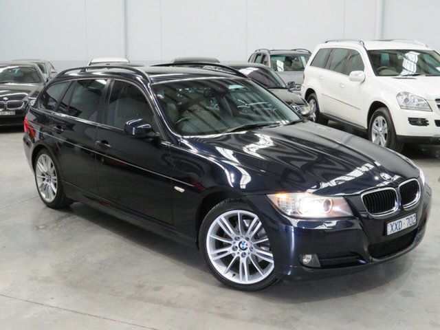 Used BMW 3 Series E91 MY10 320d Touring Steptronic Executive, 2010 BMW 3 Series E91 MY10 320d Touring Steptronic Executive Blue 6 Speed Sports Automatic Wagon