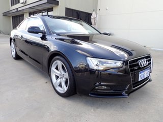 2012 Audi A5 8T MY12 S Tronic Quattro Black Pearl Effect 7 Speed Sports Automatic Dual Clutch Coupe.