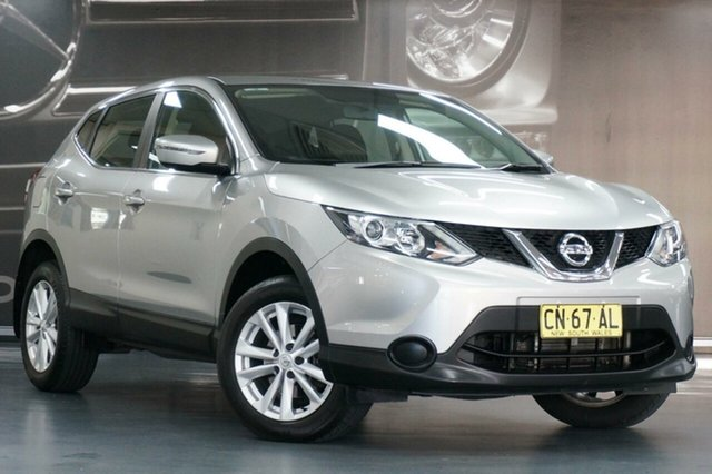 Used Nissan Qashqai J11 ST, 2017 Nissan Qashqai J11 ST Silver 1 Speed Constant Variable Wagon