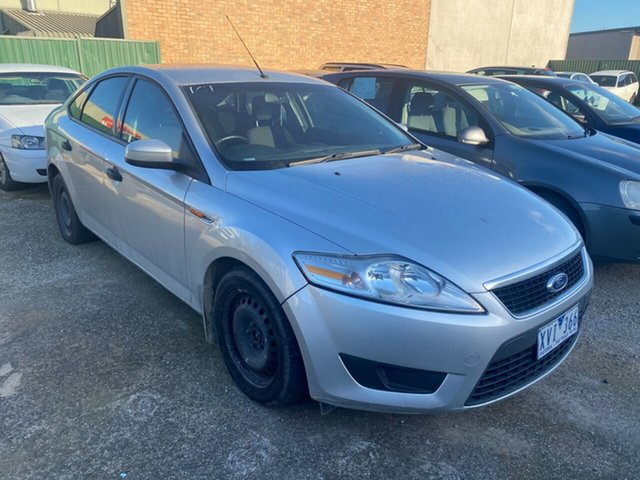 Used Ford Mondeo MC LX TDCi Hoppers Crossing, 2010 Ford Mondeo MC LX TDCi Silver 6 Speed Direct Shift Hatchback