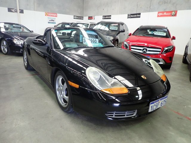 Used Porsche Boxster  , 2000 Porsche Boxster Black Magic 5 Speed Tiptronic Roadster