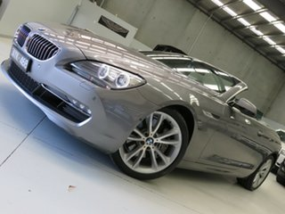 2013 BMW 640i F12 MY1112 Steptronic Meteorite Grey 8 Speed Sports Automatic Convertible